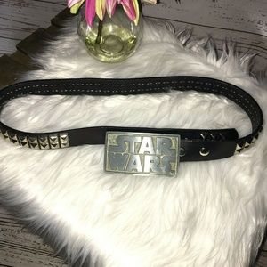 Hot Topic Star Wars genuine leather belt size 34